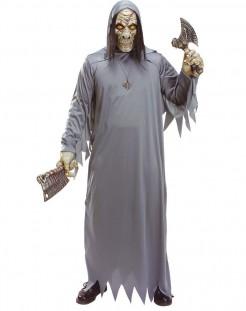 Zombie Dämon Halloweenkostüm Leiche grau