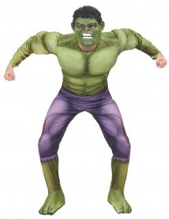Hulk™-Kostüm Avengers 2™ für Erwachsene grün-violett