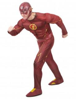 Deluxe Flash™-Herrenkostüm rot-gelb