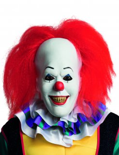 Stephen Kings Es™ Horror Clown Halloweenmaske Lizenzware bunt
