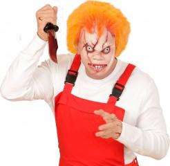 Maske Mörderpuppe Halloween für Erwachsene