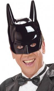 Superheld-Maske Fledermaus Halloween schwarz