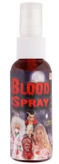 Blutspray Halloween Make-up Kunstblut rot 48ml