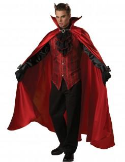 Deluxe Teufelkostüm für Herren rot-schwarz