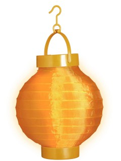 Halloween-Lampion orange 15cm