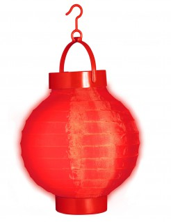 Deko-Laterne Lampion rot 15cm