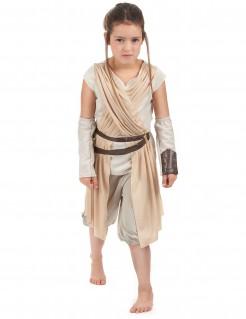 Rey Star Wars Deluxe Kinderkostüm Lizenzware beige-braun