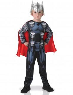 Thor™-Kostüm für Kinder Halloweenkostüm schwarz-rot