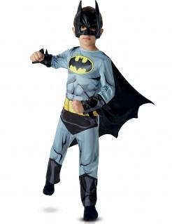 Klassisches Batman™-Kinderkostüm grau-schwarz-gelb