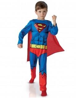 Superman™-Kostüm für Kinder blau-rot-gelb