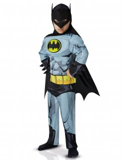 Batman™-Kinderkostüm schwarz-grau-gelb