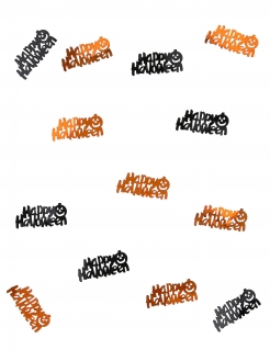 Halloween-Konfetti Tischdeko orange 10g