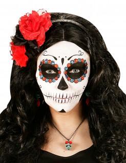 Strasssteine Make-up Zubehör je 20 Stück in rot und blau 0,8cm