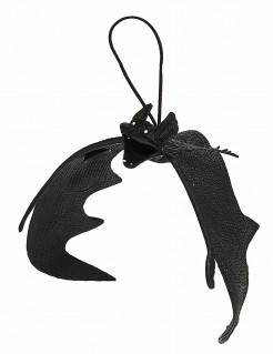 Große Fledermaus-Hängedeko - Halloween schwarz