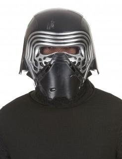 Helm-Maske Kylo Ren™ aus Star Wars VII™ für Erwachsene 2-teilig schwarz-silber