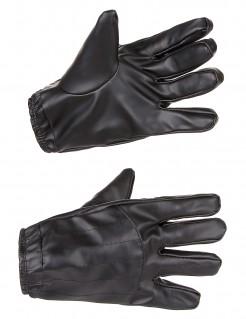 Handschuhe von Kylo Ren aus Star Wars VII™ für Erwachsene schwarz 24 cm