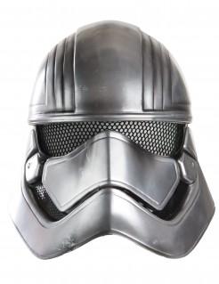 Captain Phasma Maske für Erwachsene Star Wars VII™ silber-schwarz 23x22cm