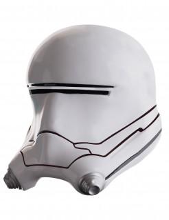 Flametrooper™-Maske für Erwachsene Star Wars™ 2-teilig schwarz-weiss-grau