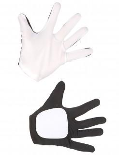 Flametrooper-Handschuhe Star Wars™ Accessoire schwarz-weiss