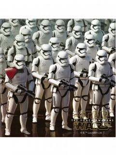 Star Wars VII™-Papierservietten 20 Stück bunt 33x33cm