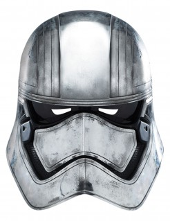 Captain Phasma Maske Star Wars™ grau-schwarz