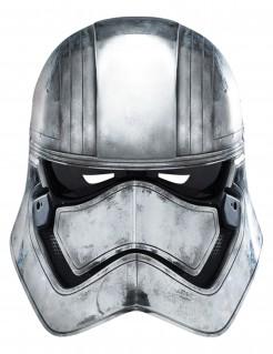 Captain Phasma Maske Star Wars™ grau-schwarz
