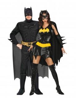 Batman™ und Batgirl™-Paarkostüm für Erwachsene schwarz-gelb
