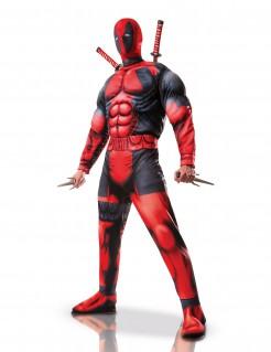 Deadpool™-Kostüm für Erwachsene Lizenzartikel rot-schwarz