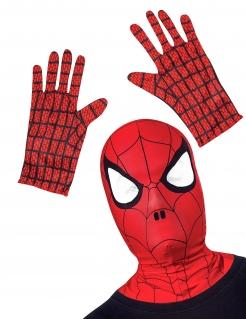 Spider-Man™ Kostümzubehör-Set für Kinder rot-schwarz