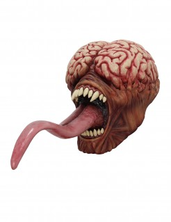 Halloween Maske Licker - Resident Evil Hautfarben-rosa