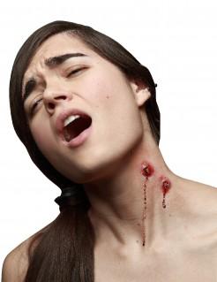 Vampirbisse Bisswunden 2 Stück rot 2,5cm