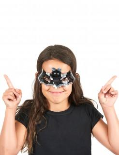 Fledermaus Maske mit Pailletten