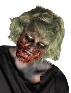 Zombiegesicht Halloween Make-up Set bunt