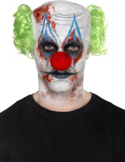 Horrorclown Halloween Make-up Set bunt