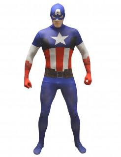 Captain America™-Morphsuit™ für Erwachsene bunt
