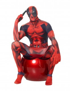 Marvel Deadpool Morphsuit Lizenzware schwarz-rot