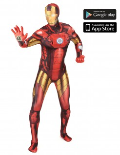 Marvel Iron Man Digital Morphsuit Lizenzware gold-rot-schwarz