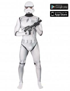 Star Wars Stormtrooper Digital Morphsuit Lizenzware weiss-schwarz