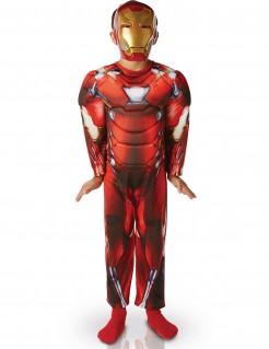 Iron Man™-Deluxekostüm für Kinder bunt