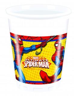 Ultimate Spider-Man™ Kunststoffbecher 8 Stück bunt 200 ml