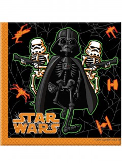 Star Wars Halloween Servietten Party-Deko 20 Stück bunt 33x33cm