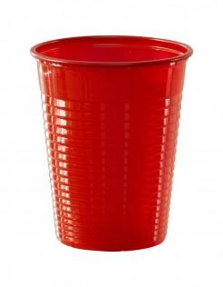 Trinbecher Tischdeko 50 Stück rot 200ml