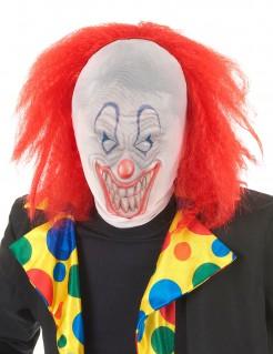 Halloween Clown mit Perücke für Erwachsene