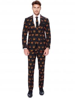 Kürbiskönig-Anzug Opposuits-Anzug schwarz-orange