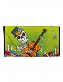 Dia de los Muertos Halloween-Banner bunt 90x150cm