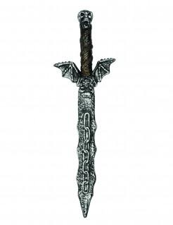 Piratenschwert mit Totenkopf silber 54cm