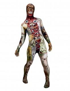 Horror-Gesichter Morphsuit Halloween bunt
