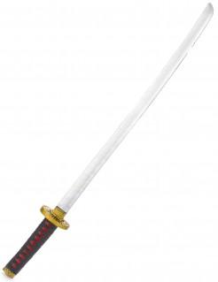 Ninja-Schwert Spielzeug-Schwert 100 cm silber-schwarz-gold