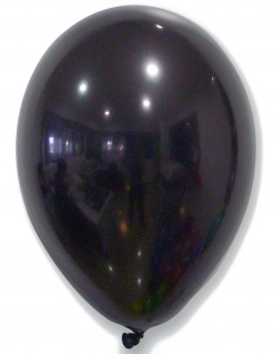 Party-Ballons 50 Stück schwarz 30cm