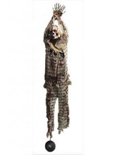 Zombie Hängedekoration Animiert 210 cm bunt